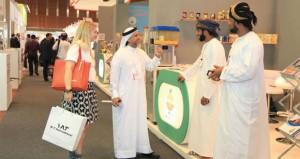 السلطنة تبدأ مشاركتها في معرض الخليج للأغذية جلفود 2014 بدبي