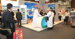 جناح السلطنة يواصل جذب زوار معرض الخليج للأغذية جلفود 2014 بدبي