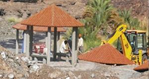 (السياحة) تنفذ عددا من المشاريع السياحية بولاية دماء والطائيين