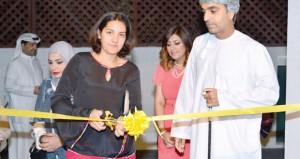 """تانيا آل سعيد تفتتح معرض """"مرايا """" برؤية فنية متنوعة وأساليب متجددة في صالة ستال للفنون"""