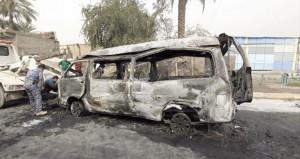 العراق: العنف يحصد قتلى وجرحى في هجمات متفرقة