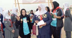 مرشدات السلطنة تشارك بفاعلية في المخيم الخليجي الثامن الذي تستضيفه مملكة البحرين.