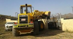 إزالة سبع حيازات غير قانونية في وادي بني غافر بولاية الرستاق