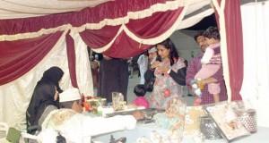 نشاط ملموس للجمعية العمانية للمعوقين بحديقة العامرات