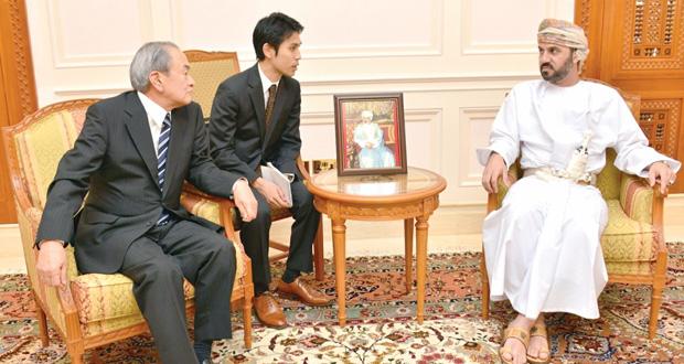 جلسة مباحثات رسمية لتعزيز التعاون القائم بين السلطنة واليابان في مجال الوثائق والمحفوظات