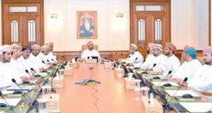 مكتب مجلس الشورى يطلع على عدد من المذكرات الواردة إليه من عدة جهات حكومية
