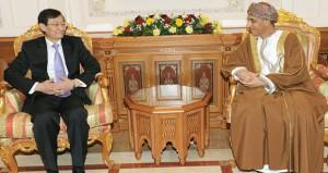 فهد بن محمود يستقبل نائب وزير الخارجية الصيني