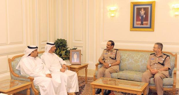 الشريقي يستقبل مدير عام جمارك دبي