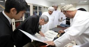 رئيس الأرشيف الوطني الياباني يواصل زيارته للهيئة في أقسامها المختلفة