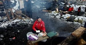 """المعارضة الأوكرانية قلقة من """" تدخل الجيش"""" ضد المتظاهرين وسط إجراءات صارمة من الحكومة"""