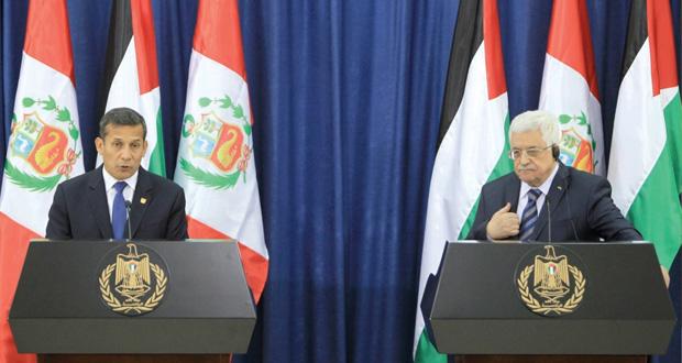 عباس : نعمل بإيجابية لدفع عملية السلام