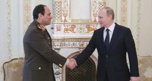 مصر وروسيا يتوافقان على مكافحة الإرهاب