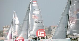 """انطلاق أطول وأصعب مرحلة في سباق الطواف العربي للابحار الشراعي """" الدوحة ـ أبوظبي """""""