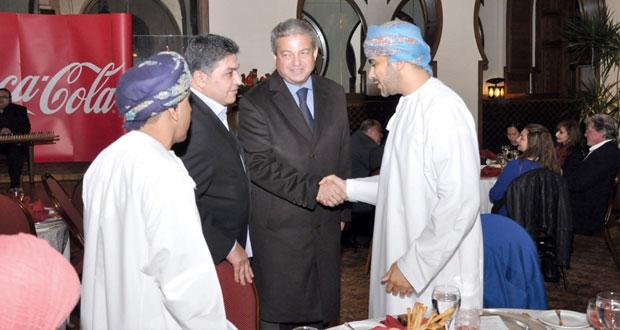 فيصل بن تركي يلتقى ببيليه و مشاركة مميزة للوفد العماني