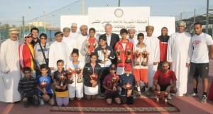 اتحاد التنس ينظم المسابقة الشهرية الثانية للناشئين والناشئات