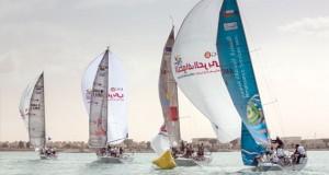 """انطلاق قوية تشهدها المرحلة الخامسة لطواف العربي للإبحار الشراعي """"رأس الخيمة ـ مسندم"""""""