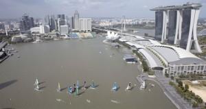 بداية قوية لقاربي الموج مسقط والطيران العُماني فى منافسات إكستريم سنغافورة