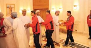 استقبال حافل لبعثة التقاط الأوتاد بعد المشاركة الناجحة ببطولة باكستان