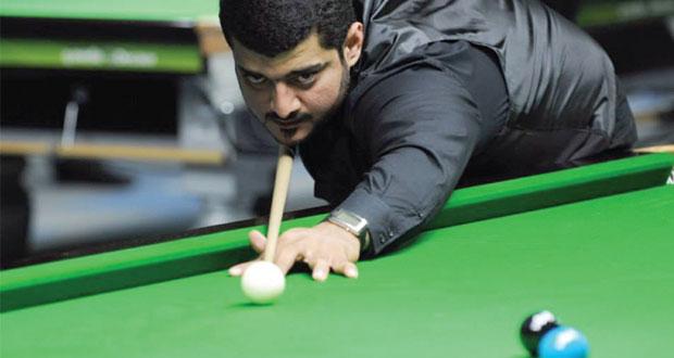 طة بشير يحقق الفوز الأول لمنتخب السنوكر في بطولة غرب آسيا