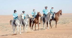 فرسان تجوال عمان يختتمون المرحلة الثالثة الأكثر صعوبة