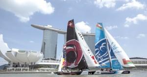 الموج مسقط ثانيا في سباقات الإكستريم بسنغافورة