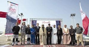 انطلاق منافسات الجولة الأولى من النسخة الرابعة لسباق الطواف العربي للابحار الشراعي لعام 2014