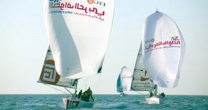 سباق الطواف العربي للإبحار الشراعي يشهد انقلابا في مراكز الصدارة بالمرحلة الثانية