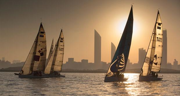 في سباق الطواف العربي للإبحار الشراعي أي أف جي