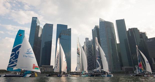 قاربا الموج مسقط والطيران العُماني يتوقّعان تحدّيا صعب المراس في انطلاقة سلسلة بطولة الاكستريم بسنغافورة الخميس المقبل