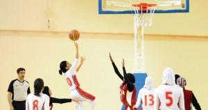 منتخب فتيات السلة يحقق فوزا مستحقا على نظيره القطري في خليجية البطولة المدرسية