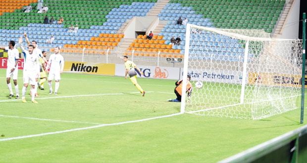 في كأس الاتحاد الآسيوي السويق يكسب رافشان الطاجيكي بثلاثية رائعة