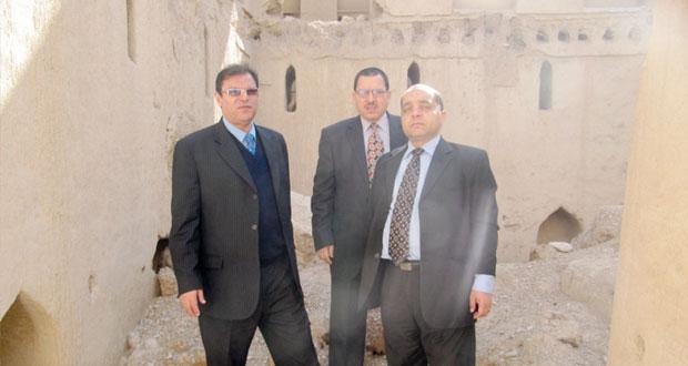 تفعيل التعاون بين السلطنة وجمهورية مصر العربية في مجال التراث والمتاحف