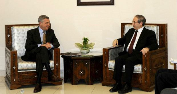 سوريا تعلن للتعاون مع قرار مجلس الأمن ضمن إطار احترام السيادة الوطني