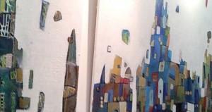 """نعيمة الميمنية تصل لندن في ثالث رحلات المعرض الفني الطائر """"ألوان في السماء"""""""