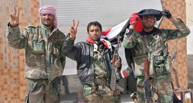 الجيش السوري على أعتاب حسم معركة يبرود