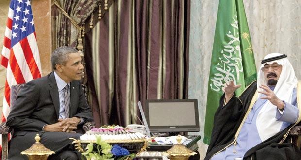 أوضاع المنطقة في قمة (عبدالله ـ أوباما)  وتأكيد أميركي على (العلاقات القوية)