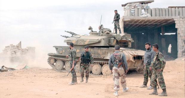 سوريا: سيطرة استراتيجية للجيش بكسب وأنباء عن إسقاط منطاد تركي