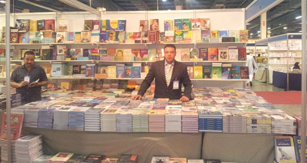 مشاركات مستمرة لمكتبة الفلاح في المعرض