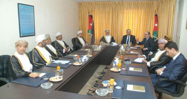 السلطنة والأردن تبحثان تطوير العلاقات بمجال العدل
