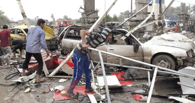 العراق: العنف يحصد العشرات بينهم 34 في (الحلة)