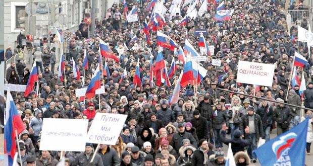 أوكرانيا: روسيا تتعهد بحماية مصالحها وأميركا تلوح لها بـ(الثماني)