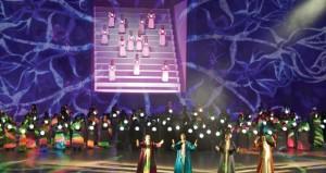 """الملحمة الفنية التاريخية """"عناقيد الضياء"""" تدشن احتفالات الشارقة عاصمة للثقافة الإسلامية 2014"""