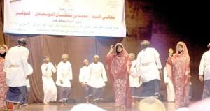"""أوبريت """"هيبة وطن"""" يفتتح فعاليات ملتقى ظفار الثقافي العاشر"""