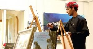 فنان تشكيلي عماني يشارك في ملتقى الجاليات العرب