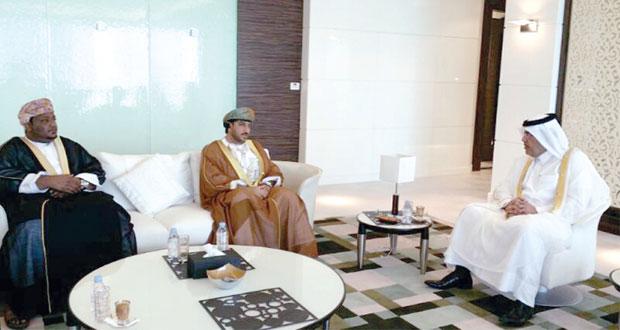 وفد من وزارة الزراعة والثروة السمكية يزور الدوحة ويلتقي وزير البيئة القطري