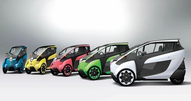 تويوتا آي رود الكهربائية سيارة مبتكرة وعملية للغاية