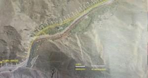 محافظ جنوب الباطنة يطلع على تصاميم المسار الجديد لطريق وادي السحتن