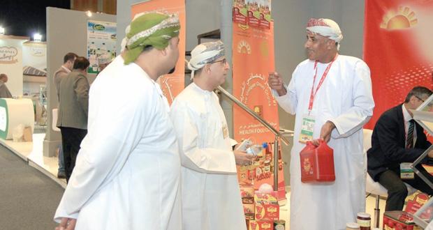 السلطنة تختتم مشاركتها في معرض الخليج للأغذية جلفود 2014 بدبي
