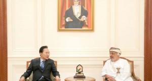رئيس مجلس الدولة يستقبل الرئيس السابق لكوريا الجنوبية