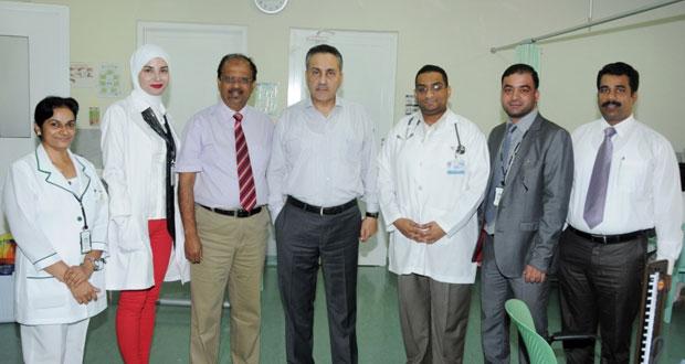 مستشفى كيمز ينظم مخيما للتبرع بالدم